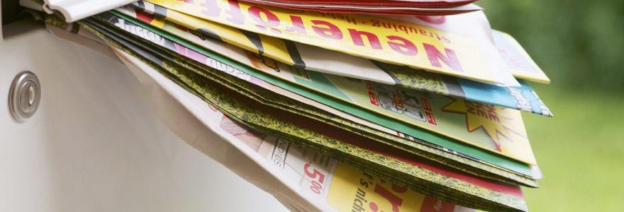 courrier publicitaire